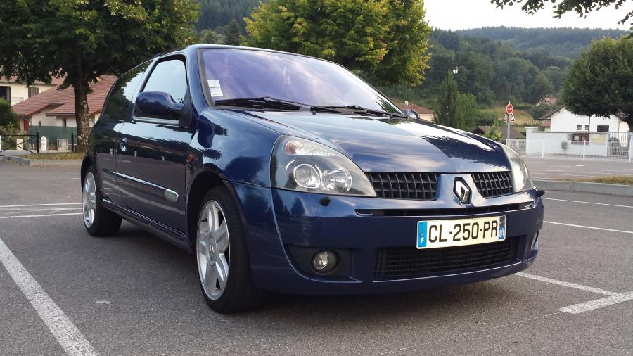 troc echange clio 2 rs phase 2 172 sur france