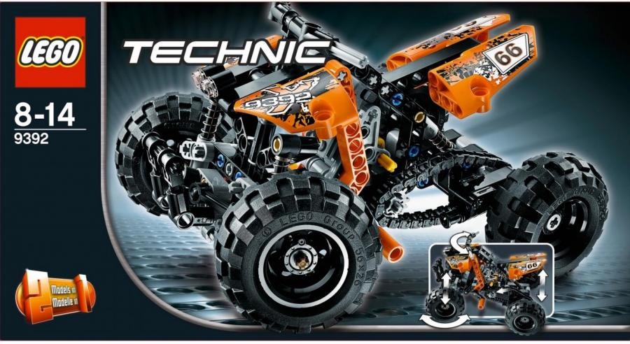 troc echange lego technic quad de 8 14 ans neuf jamais ouvert sur france. Black Bedroom Furniture Sets. Home Design Ideas